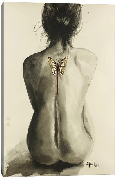 Dead Wings Canvas Art Print