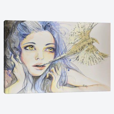 Far Away Canvas Print #SRI22} by Sara Riches Canvas Wall Art