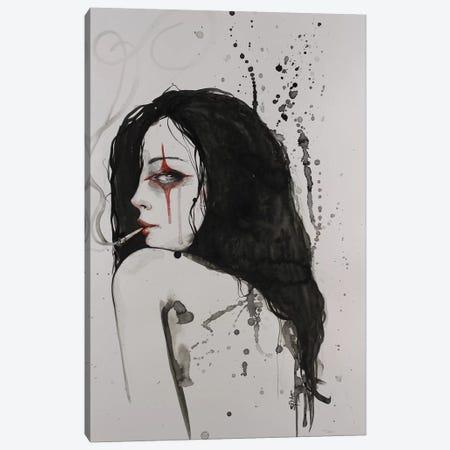 Fool Me Twice Canvas Print #SRI26} by Sara Riches Canvas Print