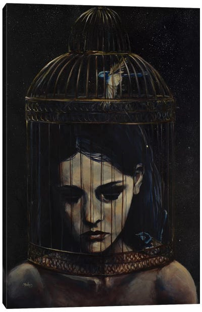 Gilded Cage Canvas Art Print
