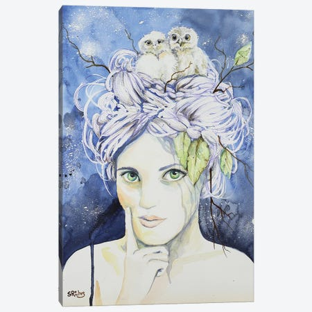 Athena Canvas Print #SRI2} by Sara Riches Canvas Art Print