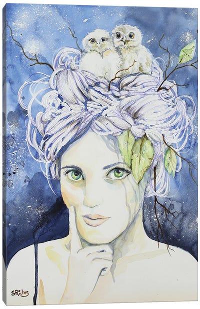Athena Canvas Art Print