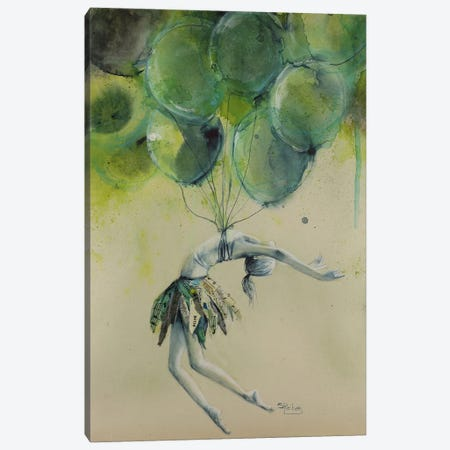 Heart Canvas Print #SRI30} by Sara Riches Canvas Print