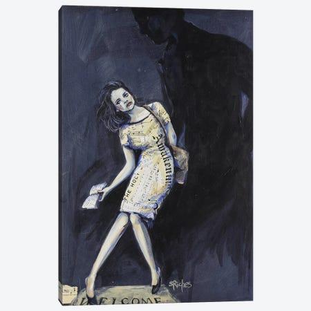 Awake Canvas Print #SRI3} by Sara Riches Art Print
