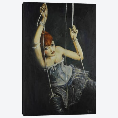 Left Hanging Canvas Print #SRI42} by Sara Riches Canvas Artwork