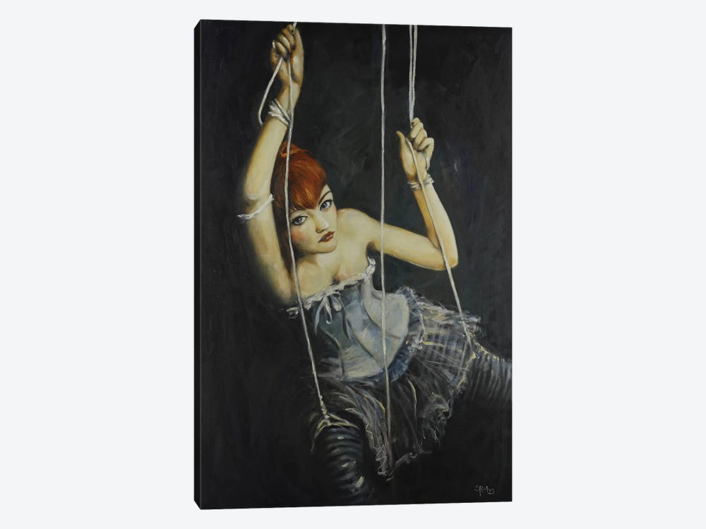 Left Hanging by Sara Riches 1-piece Canvas Artwork