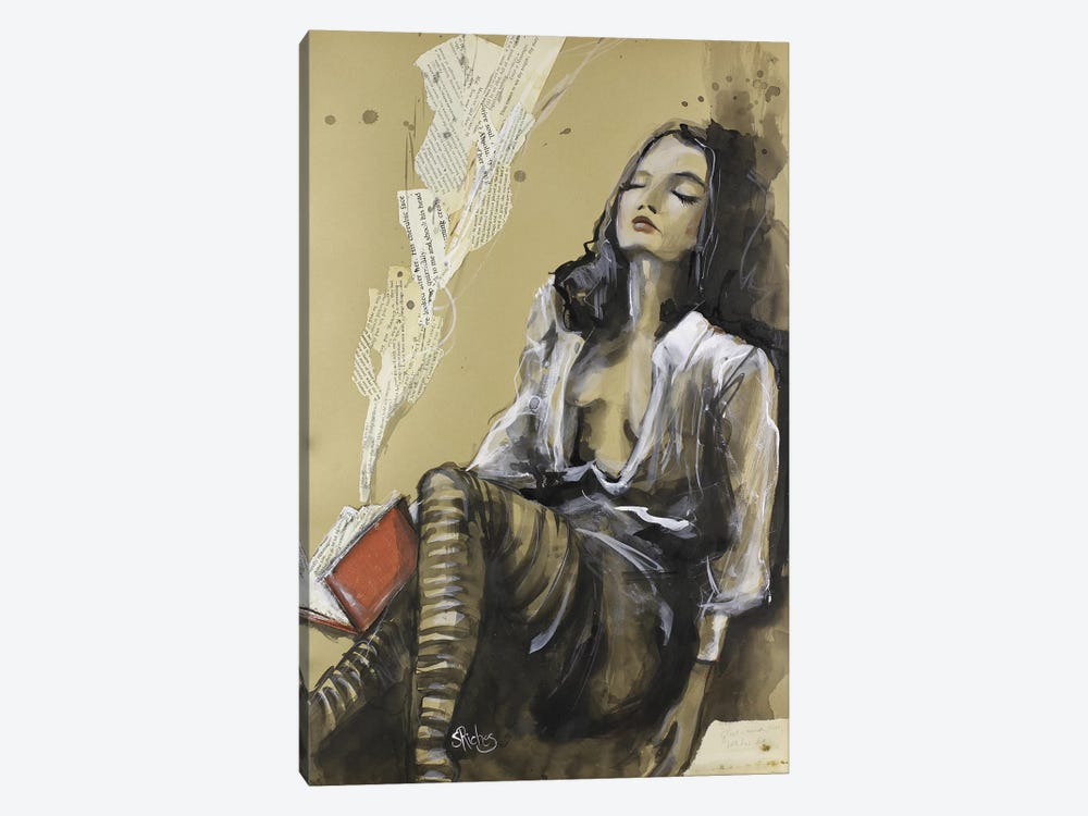 Let Her Be by Sara Riches 1-piece Canvas Artwork
