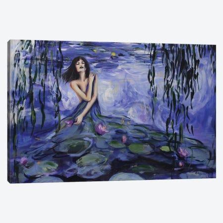Lilly Canvas Print #SRI46} by Sara Riches Art Print