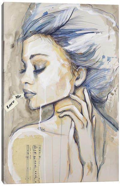 Love Me Canvas Art Print