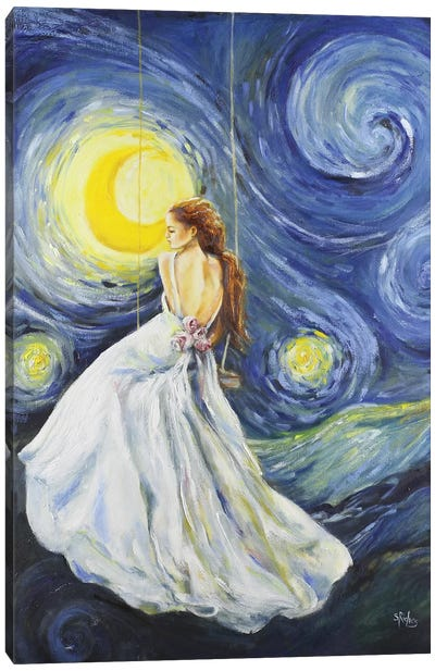 My Starry Night Canvas Art Print
