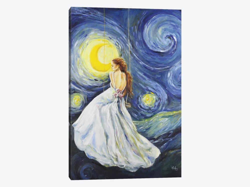 My Starry Night by Sara Riches 1-piece Canvas Art Print