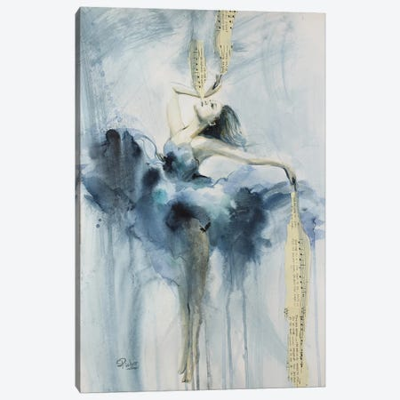 My Symphony Canvas Print #SRI53} by Sara Riches Canvas Print