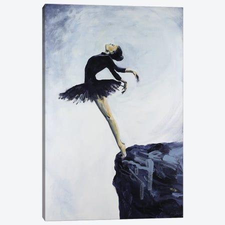 On The Edge Canvas Print #SRI56} by Sara Riches Canvas Artwork