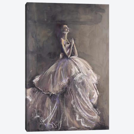 Poise Canvas Print #SRI59} by Sara Riches Art Print
