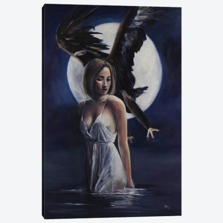 Rise Above Canvas Print #SRI61} by Sara Riches Canvas Artwork