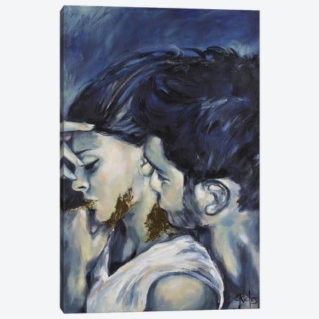 The Midas Touch 3-Piece Canvas #SRI65} by Sara Riches Canvas Art Print