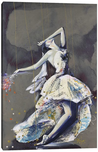 The Wedding Canvas Art Print