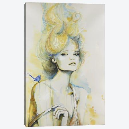 Time To Shine Canvas Print #SRI68} by Sara Riches Canvas Wall Art