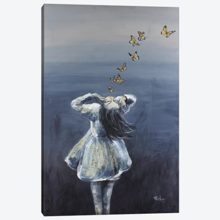 To Know Her Caresses Canvas Print #SRI69} by Sara Riches Canvas Art