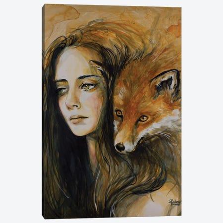 Watchful Eyes Canvas Print #SRI70} by Sara Riches Canvas Art Print