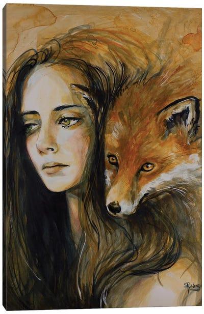 Watchful Eyes Canvas Art Print