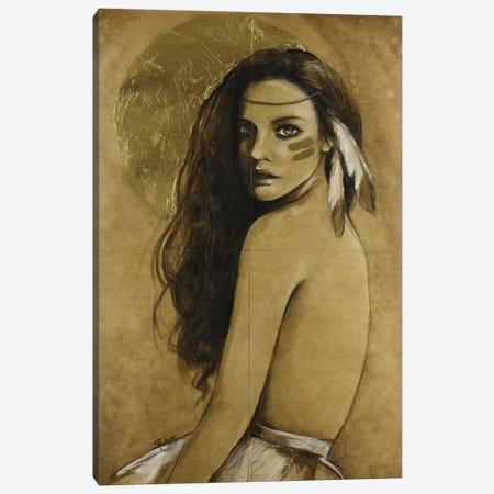 Wild Moon Canvas Print #SRI71} by Sara Riches Canvas Print