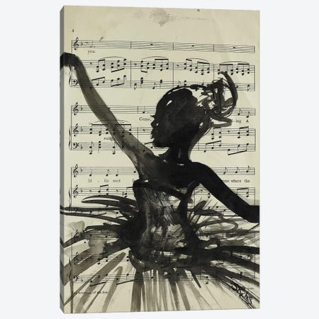Dance Canvas Print #SRI77} by Sara Riches Canvas Artwork