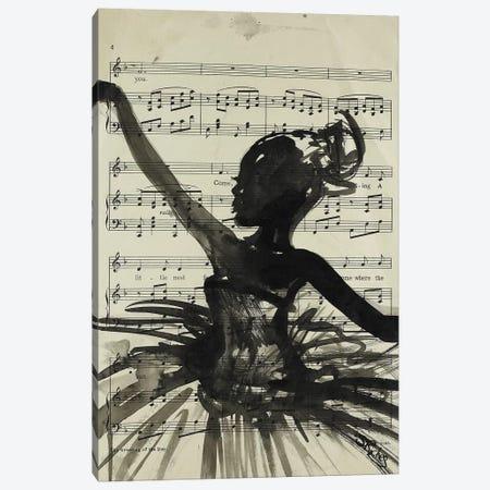 Dance Canvas Print #SRI77} by Sara Riches Canvas Artwork