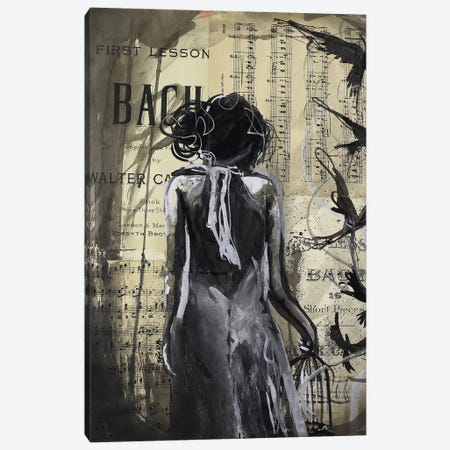 Free The Fear You Can't Understand Canvas Print #SRI80} by Sara Riches Canvas Art