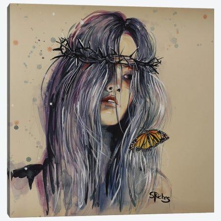 Hurt Canvas Print #SRI81} by Sara Riches Canvas Artwork