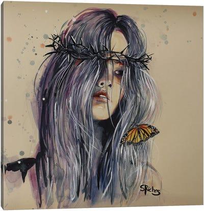 Hurt Canvas Art Print