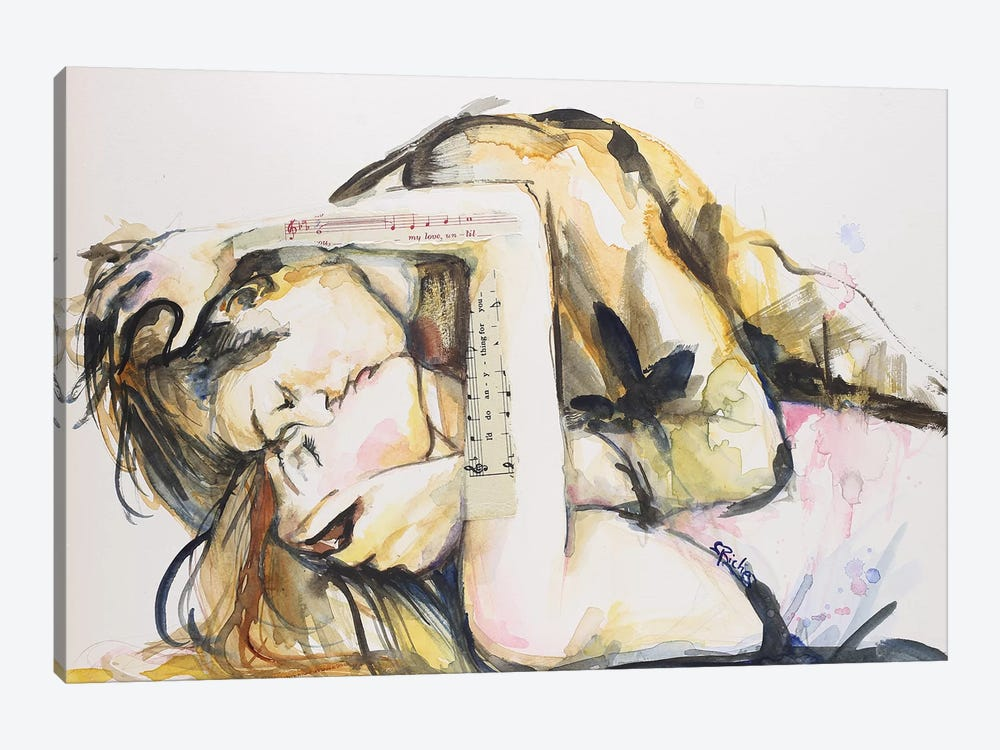 I'd Do Anything For You by Sara Riches 1-piece Art Print