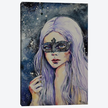 Star Gazer Canvas Print #SRI89} by Sara Riches Canvas Art