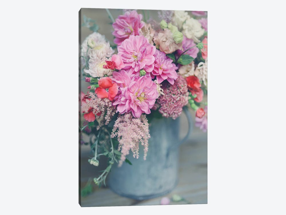 Spring Floral Arrangements 1-piece Canvas Art Print