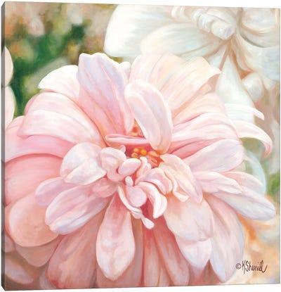 Luminous Petals Canvas Art Print