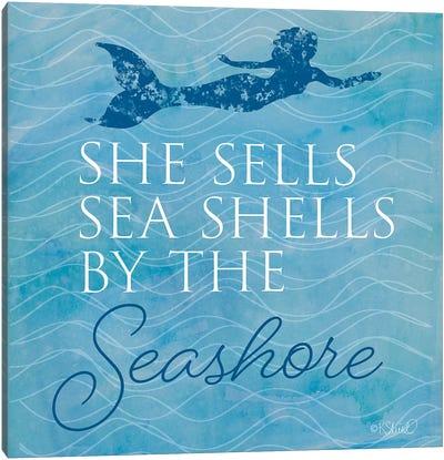 She Sells Seashells Canvas Art Print