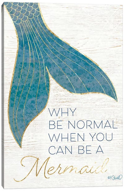 Why be Normal? Canvas Art Print