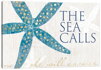 The Sea Calls Canvas Art Print