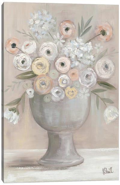 Floral Bouquet Canvas Art Print
