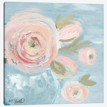Joyful Blooms Canvas Print #SRL25} by Kate Sherrill Canvas Art