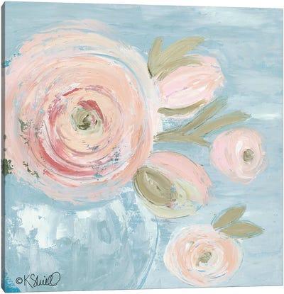 Joyful Blooms Canvas Art Print