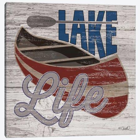 Lafe Life Canoe Canvas Print #SRL28} by Kate Sherrill Canvas Art Print
