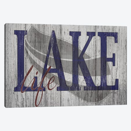 Lake Life Canvas Print #SRL29} by Kate Sherrill Canvas Print