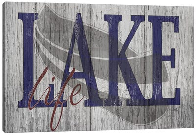 Lake Life Canvas Art Print