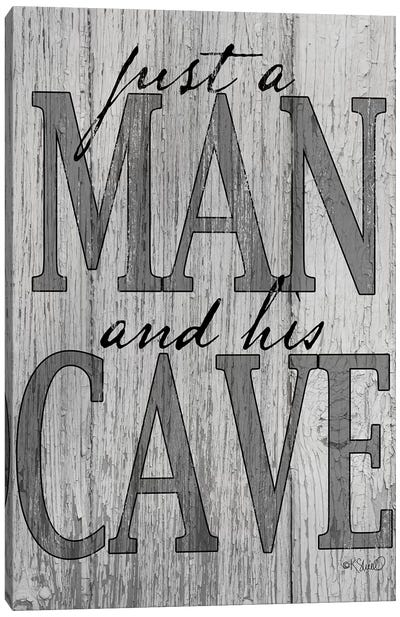 Mancave Canvas Art Print