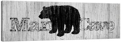 Mancave Bear Canvas Art Print