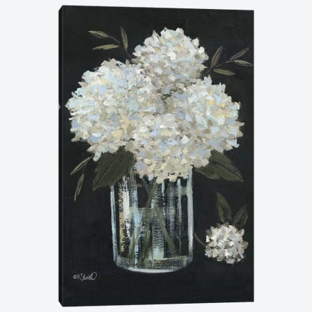 White Hydrangeas II Canvas Print #SRL35} by Kate Sherrill Canvas Art Print