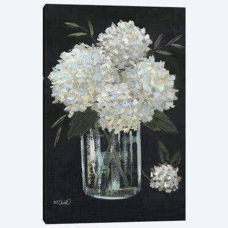 White Hydrangeas II Canvas Print #SRL35} by Kate Sherrill Canvas Art Print
