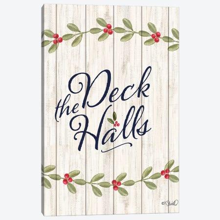 Deck The Halls E Canvas Print #SRL36} by Kate Sherrill Art Print
