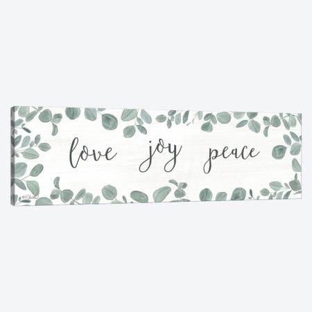 Love-Joy-Peace Eucalyptus Canvas Print #SRL43} by Kate Sherrill Canvas Print